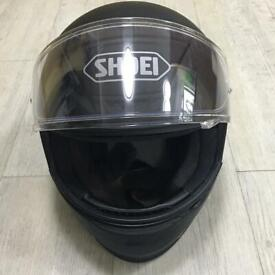 Shoei NXR motocycle Helmet size XL or 2XL matt black
