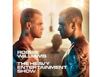 2 x 2 pairs of tickets to the Opening Night of Robbie Williams Heavy Entertainment Show