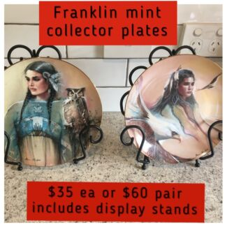 Franklin mint - collector plates