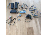 Xbox accessories, 3 x PSU's, official controller, 60GB hard drive, other cables
