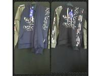 Girls Adidas tracksuits