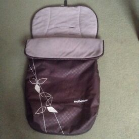Mothercare Footmuff. Good clean condition.