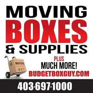 BudgetBoxGuy.Com - All Your Moving Supplies In One Place! 403-697-1000 Calgary Alberta Preview