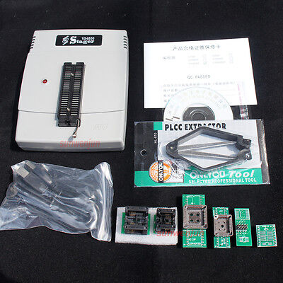 Vs4800 Universal High Speed Programmer Bios Gal Eprom Flash 51 Avr Pic Mcu Spi