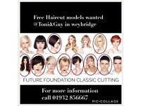 Free haircut models wanted @toni&guy weybridge