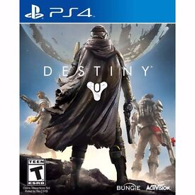 destiny , ps4 , as new ! price stands , no offers ! willing to post !