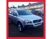 BARGAIN! 2005 Volvo XC90 2.9 Twin Turbo T6 TOP OF THE RANGE 4x4 RARE 7 seater Auto immaculate