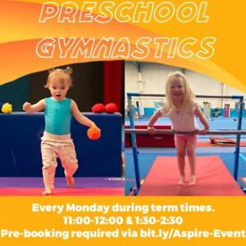 Preschool Gymnastics for children from walking to 4 years old
