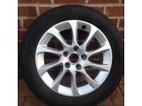 Audi A3 Alloy Wheel With Pirelli Centurato Tyre