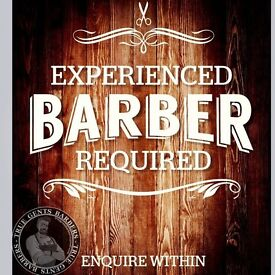 Experienced barber required in town centre