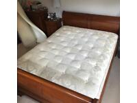 King size 'Handmade' Mattress with Divan Base + FREE Topper