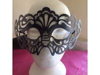 HALLOWEEN/MASKED BALL TWO STUNNING EYE MASKS FROM ACCESSORIZE- BRAND NEW