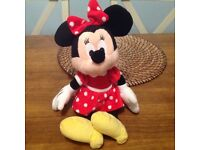 Minnie Mouse Soft toy Immaculate condition