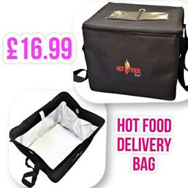 Uber Eats delivery bag fully insulated