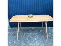 Original Ercol Plank Dining Table