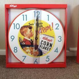 Large retro board clocks (New)