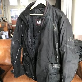 Akito Two Piece Winter Motor Cycle Wear