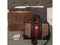My stunning Gucci bee Boston bag