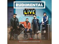 2x Rudimental standing tickets, Rock City Nottingham, Wednesday 17th October 2018