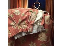 Curtains Dusky Pink (Lined)