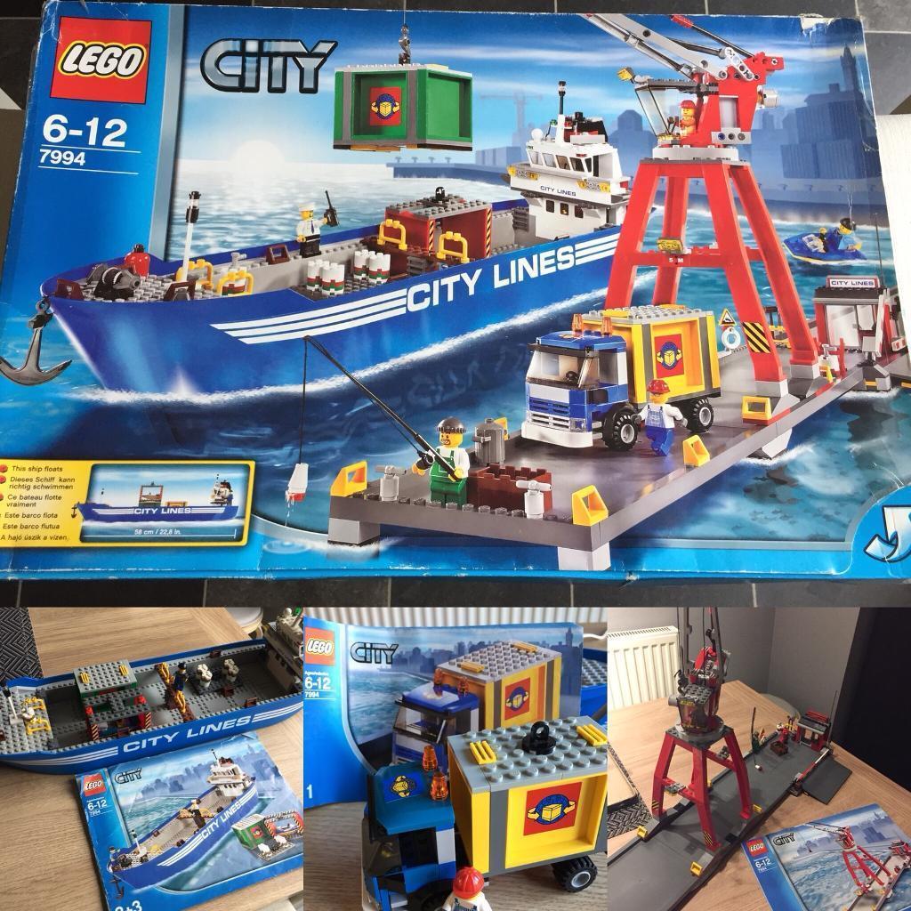 lego city 7994 ultimate harbour - Lego City Bateau