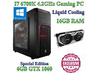 GAMING PC WITH I7-6700K AND GTX 1060