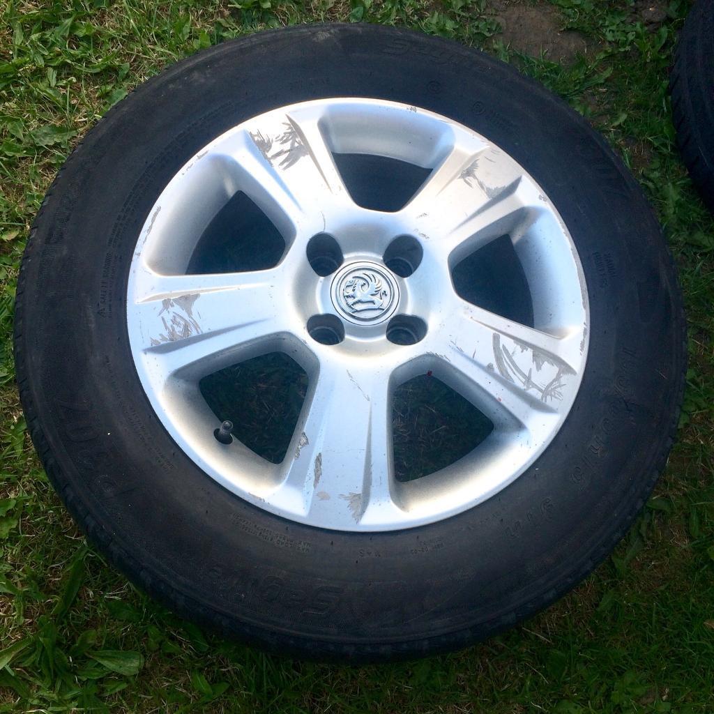 "Cheap 4 x 15"" Vauxhall Corsa Alloy Wheels 15 inch"