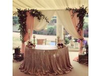 Wedding and Event Decoration Inventory For Sale