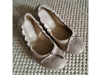 Tods Ballerinas Womens Flat Shoes size 36.5