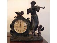 Mock Bronze clock