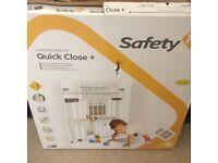 Safety 1st U-pressure Fit Quick Close Plus Safety Gate BNIB