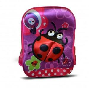 Todd Baby Ladybug 3D School Bag Rucksack Backpack for Kids 15 Inch