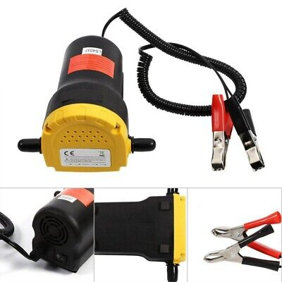 12v 60w Transfer Pump Extractor Oil Fuel Fluid Diesel Electric Siphon Suction Us