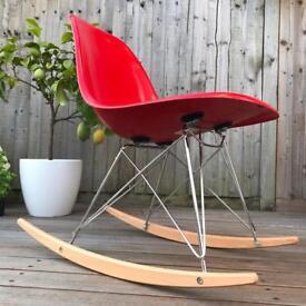 Genuine 60s Herman miller Eames rocking chair DSR