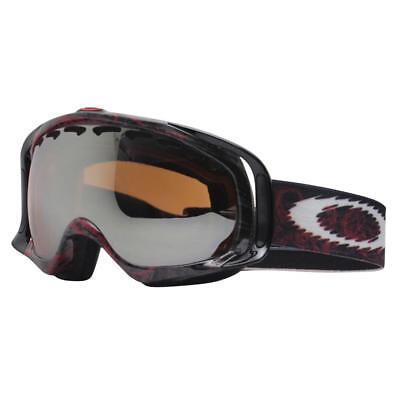 Oakley 01-801 Crowbar Seth Morrison Red Skulls w/ Black Lens Snow Ski Goggles .