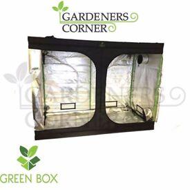 Hydroponics Green Box Grow Tent Room 500 x 300 x 200 cm Silver Mylar Indoor Bud