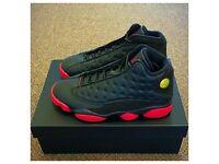 "Nike Air Jordan 13 GYM RED RetroXIII BRED UK10 EU45 US11 QS SOLDOUT RARE 2014 ""DIRTYBRED"" 100sales"