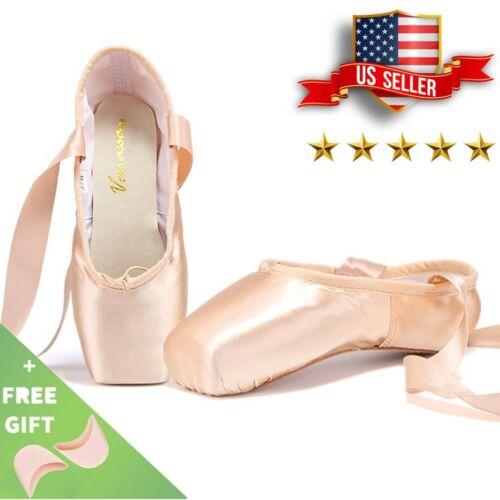 "Used Nexete Professional ""Vanassa"" Pointe Ballet Shoes Girl Women"