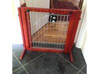 Dog/Puppy door gate