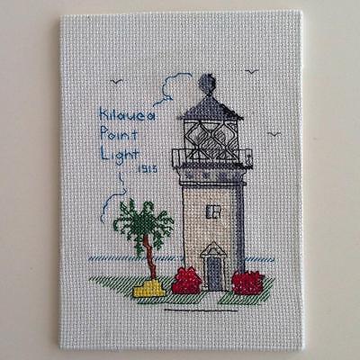 - Kilauea Point Lighthouse Cross Stitch Art Hawaii