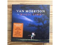 Van Morrison Magic Time Collectors Edition incl lyric postcards