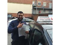 SHARIF School of Motoring. Experienced, Reliable, Patient DSA approved driving instructor.