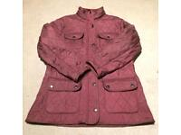 Ladies Barbour quilted jacket size 12