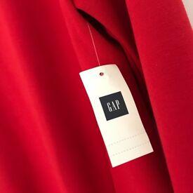 Gap dress, classic red
