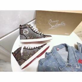 Christian Louboutin sequence high top trainers