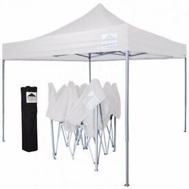 Tan 10' x 10' Pop Up Canopy Gazebo Super easy to set up!