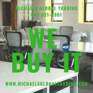 We Buy All Office Furniture & IT Equipment - Michaels Global Trading