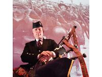 Bagpipe Teacher. Professional, experienced and qualified. PVG Cleared
