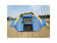 Peaktop 3+1 Rooms 8 Persons Large Family Group Camping Tent