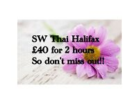 Traditional Thai Massage..£20/hour